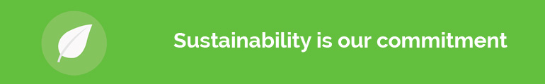 Sustainability is our commitment